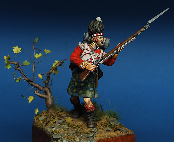 Figures: Highlander, 92nd Gordon's regt.