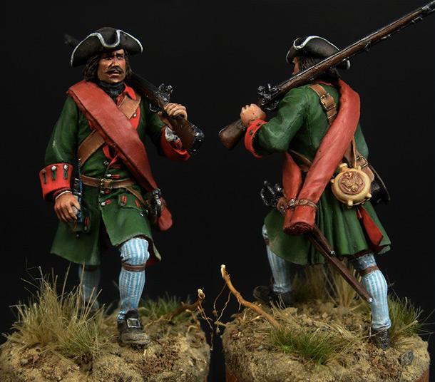 Figures: Fusilier, Belgorod infantry regt.
