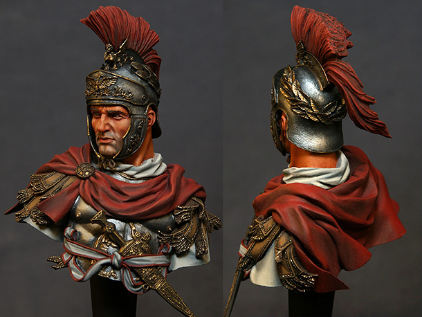 Figures: Roman cavalry officer