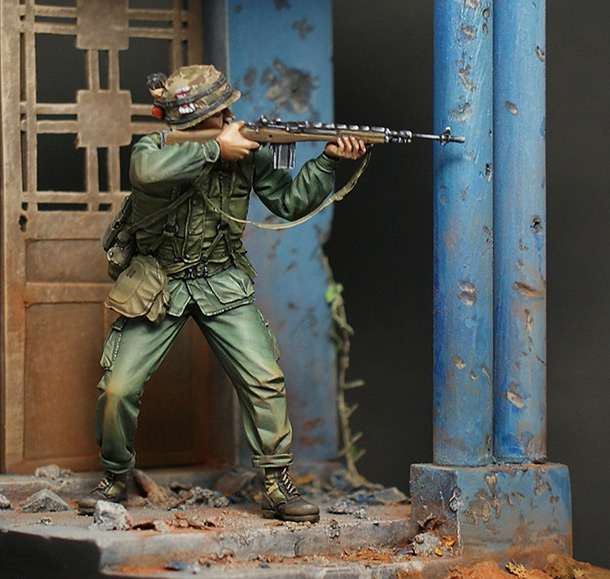 Dioramas and Vignettes: Tet offensive. 1968