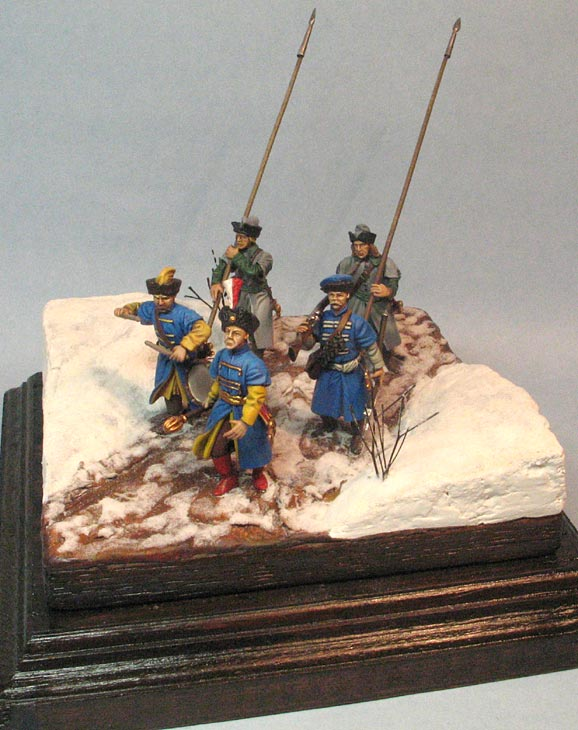 Dioramas and Vignettes: Winter march on Moscow, 1612, photo #1