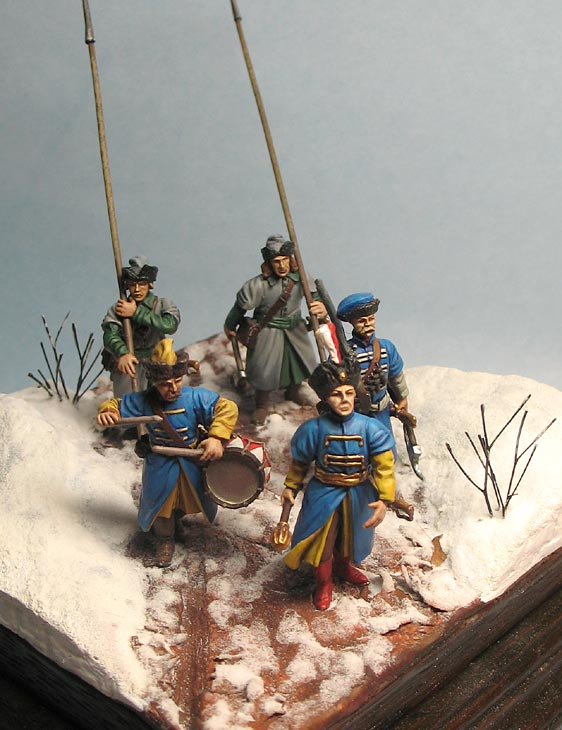Dioramas and Vignettes: Winter march on Moscow, 1612, photo #2