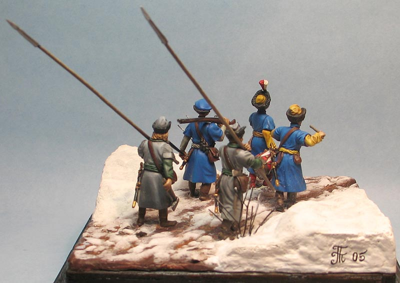 Dioramas and Vignettes: Winter march on Moscow, 1612, photo #6