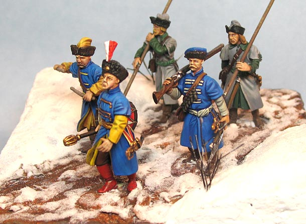 Dioramas and Vignettes: Winter march on Moscow, 1612