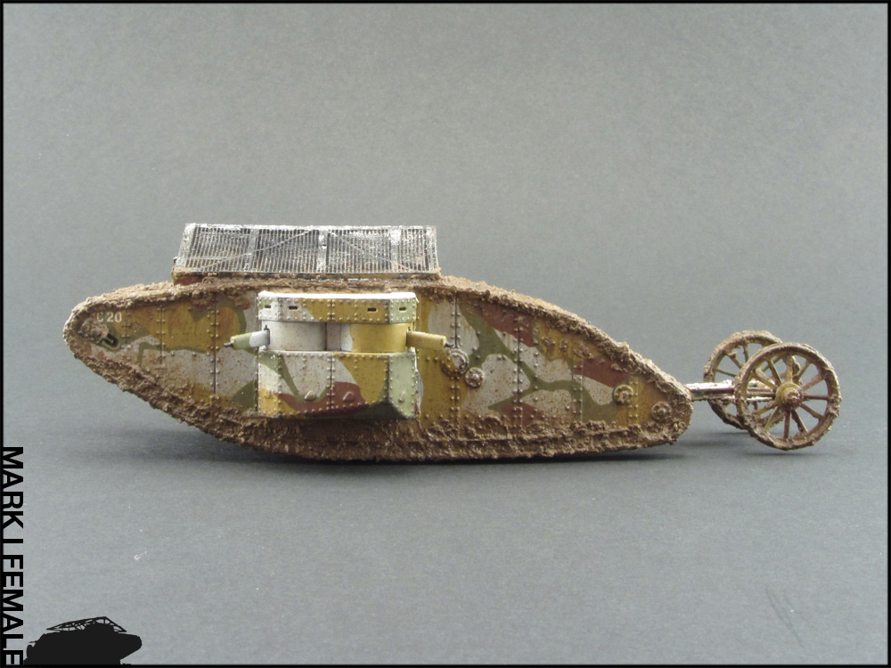 Dioramas and Vignettes: Мark Mk.I Female. Somme offensive, photo #11
