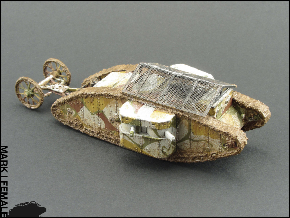 Dioramas and Vignettes: Мark Mk.I Female. Somme offensive, photo #13