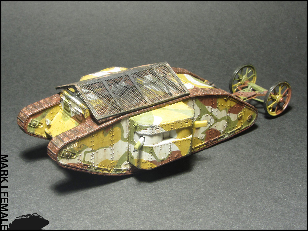 Dioramas and Vignettes: Мark Mk.I Female. Somme offensive, photo #16