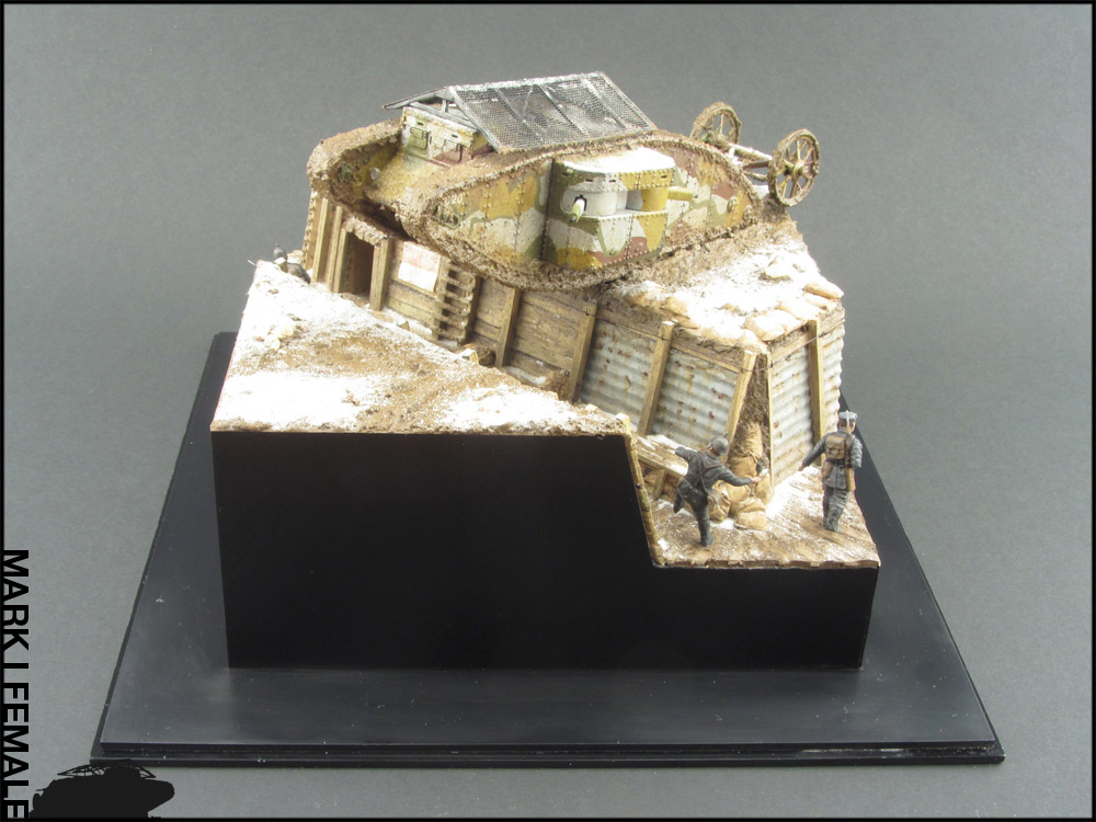 Dioramas and Vignettes: Мark Mk.I Female. Somme offensive, photo #4