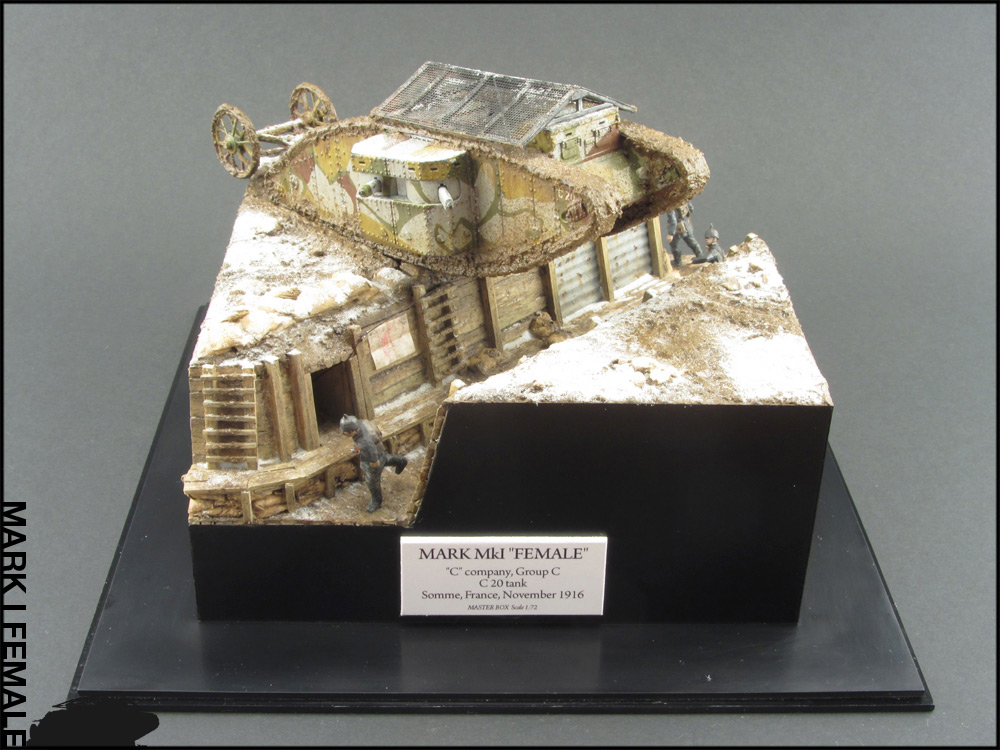 Dioramas and Vignettes: Мark Mk.I Female. Somme offensive, photo #7