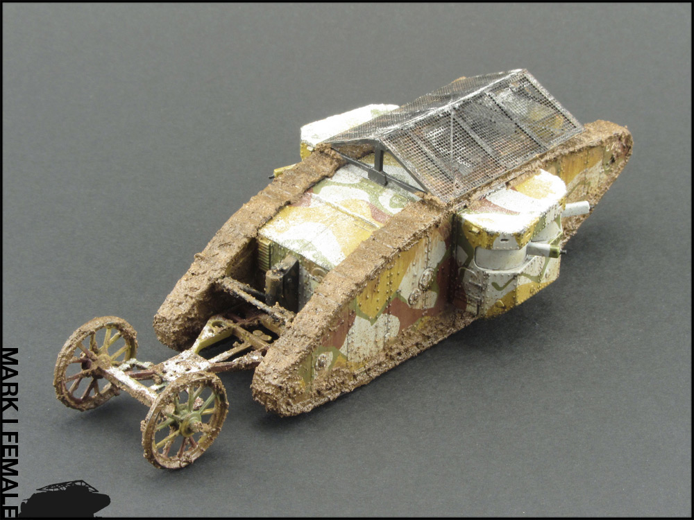 Dioramas and Vignettes: Мark Mk.I Female. Somme offensive, photo #8