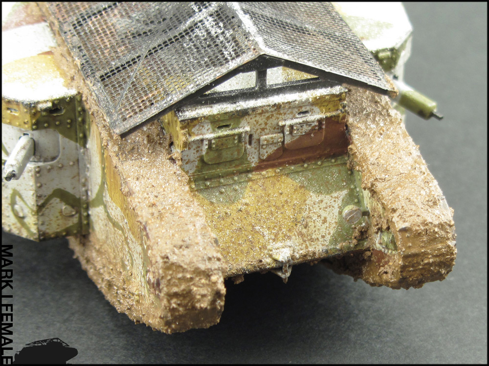 Dioramas and Vignettes: Мark Mk.I Female. Somme offensive, photo #9