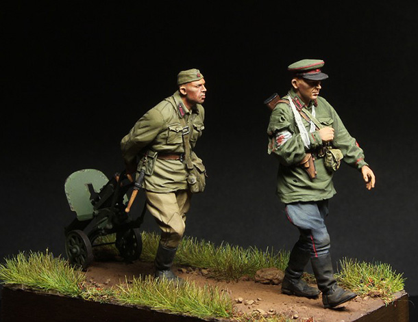 Dioramas and Vignettes: 1941. The Retreat