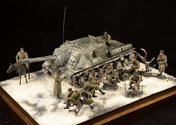 Dioramas and Vignettes: Vasily Tyorkin