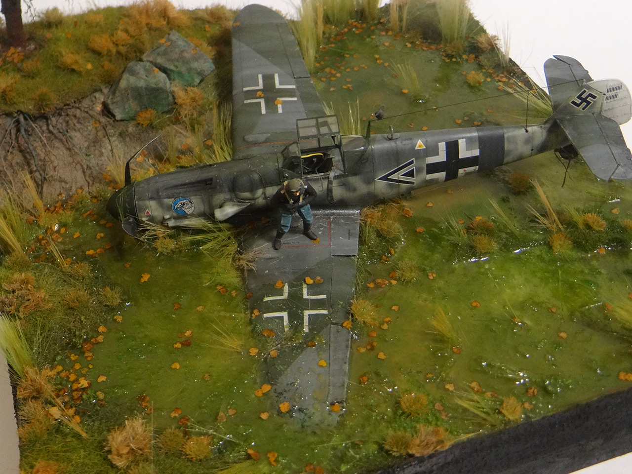 Dioramas and Vignettes: Shot down pilot, photo #16
