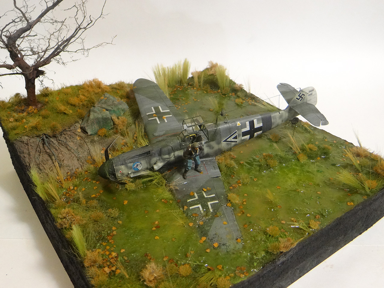 Dioramas and Vignettes: Shot down pilot, photo #3