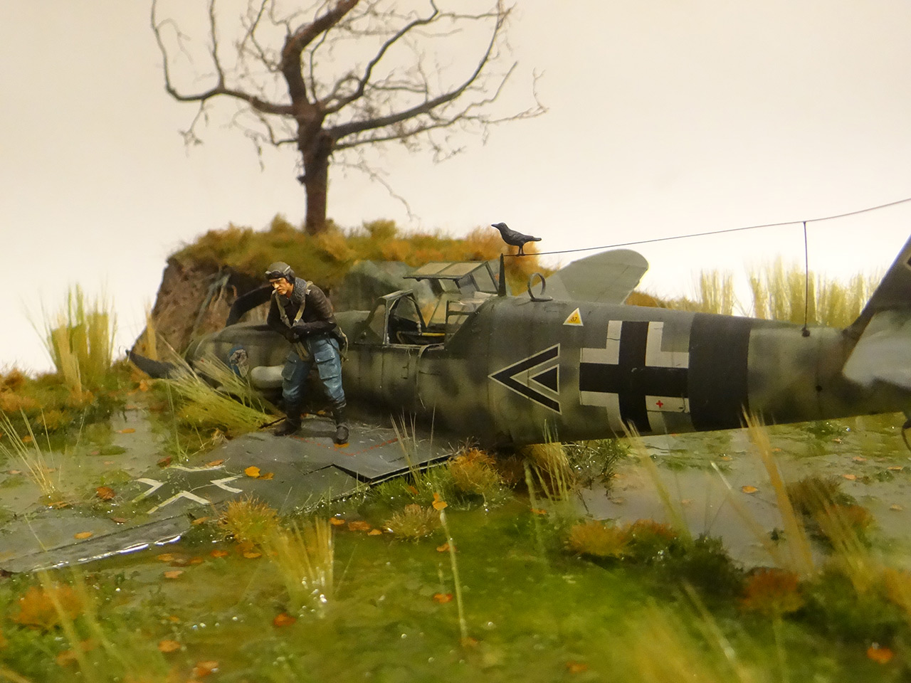 Dioramas and Vignettes: Shot down pilot, photo #6