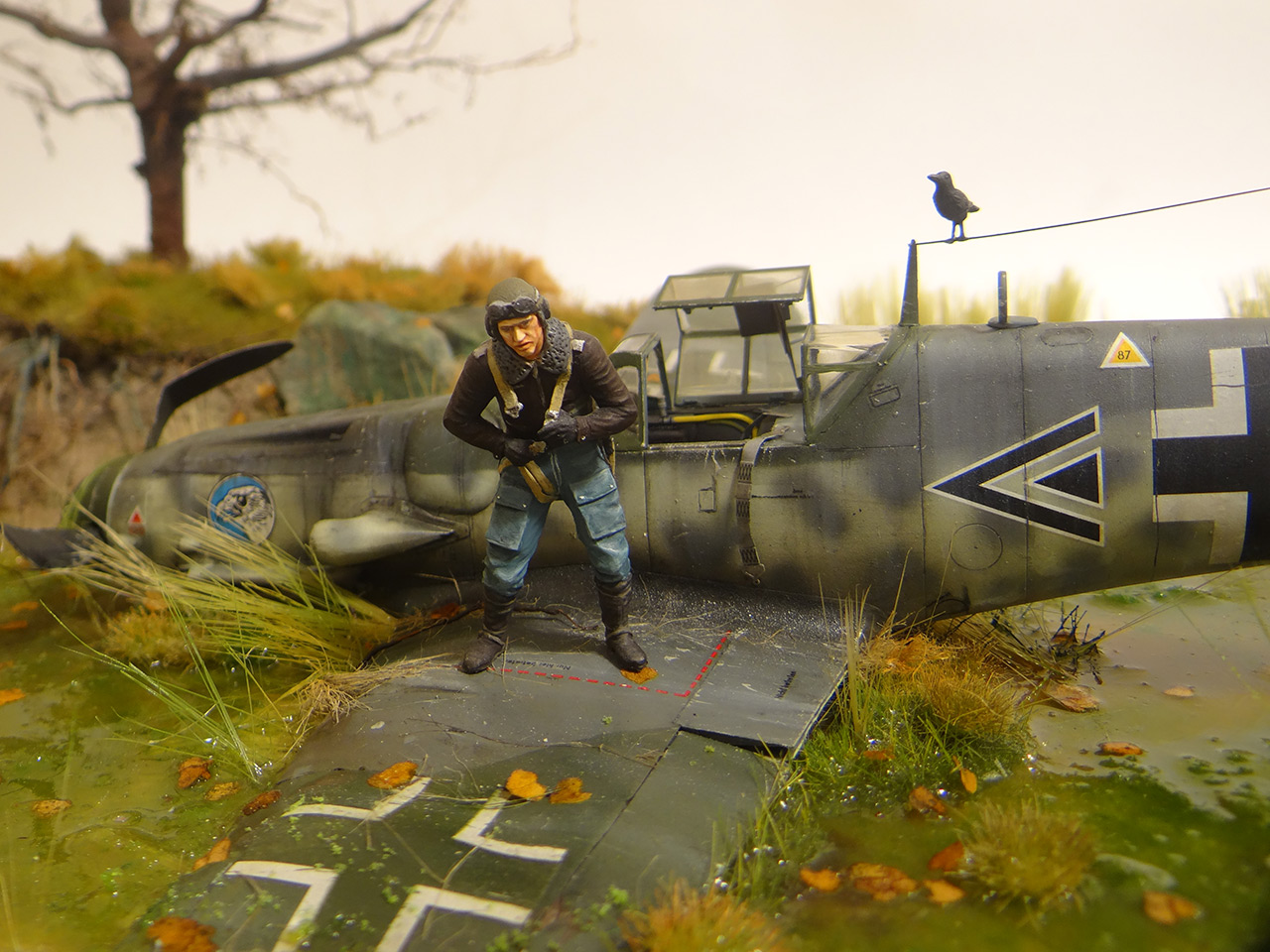 Dioramas and Vignettes: Shot down pilot, photo #7