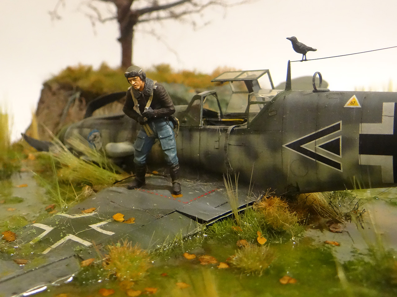 Dioramas and Vignettes: Shot down pilot, photo #8
