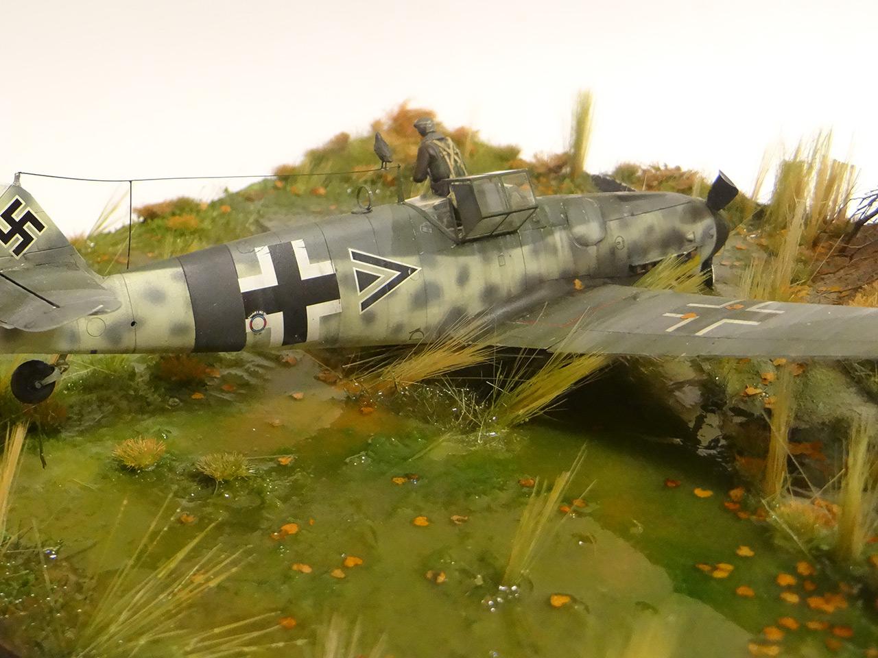 Dioramas and Vignettes: Shot down pilot, photo #9