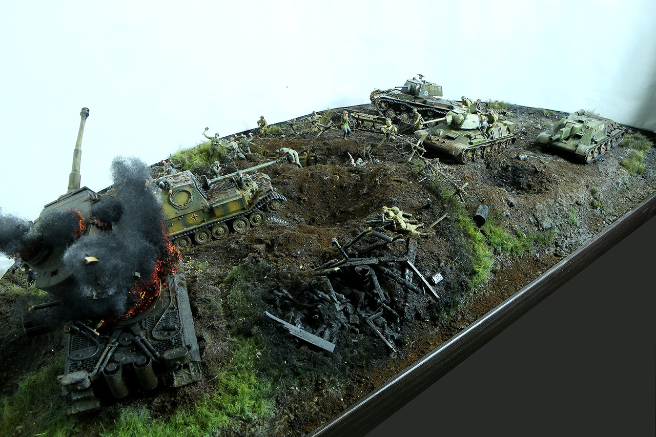 Dioramas and Vignettes: Kursk bulge. The breaktrough, photo #12