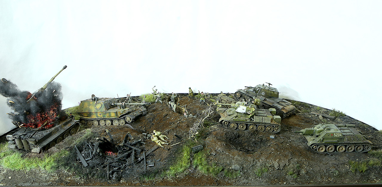 Dioramas and Vignettes: Kursk bulge. The breaktrough, photo #13
