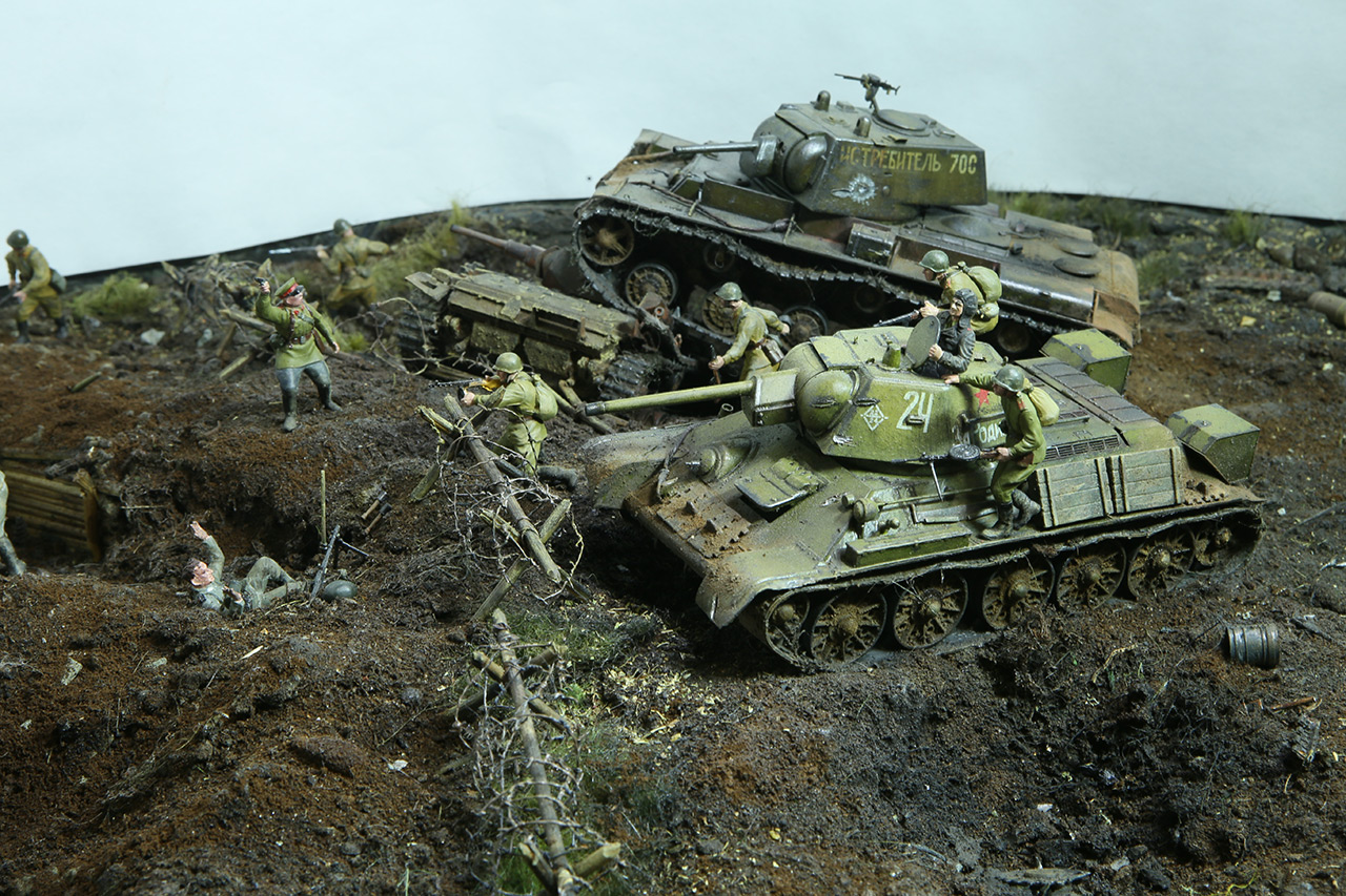 Dioramas and Vignettes: Kursk bulge. The breaktrough, photo #14
