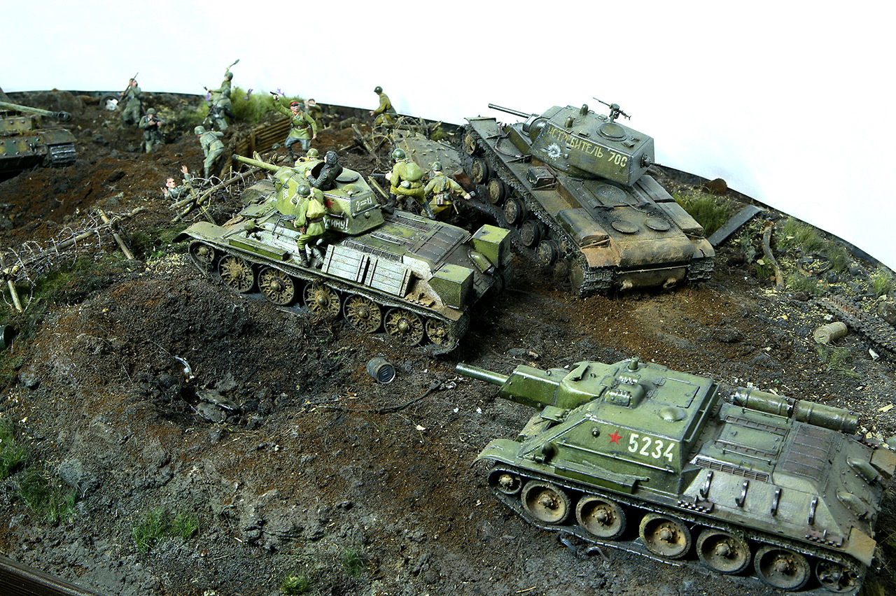 Dioramas and Vignettes: Kursk bulge. The breaktrough, photo #15