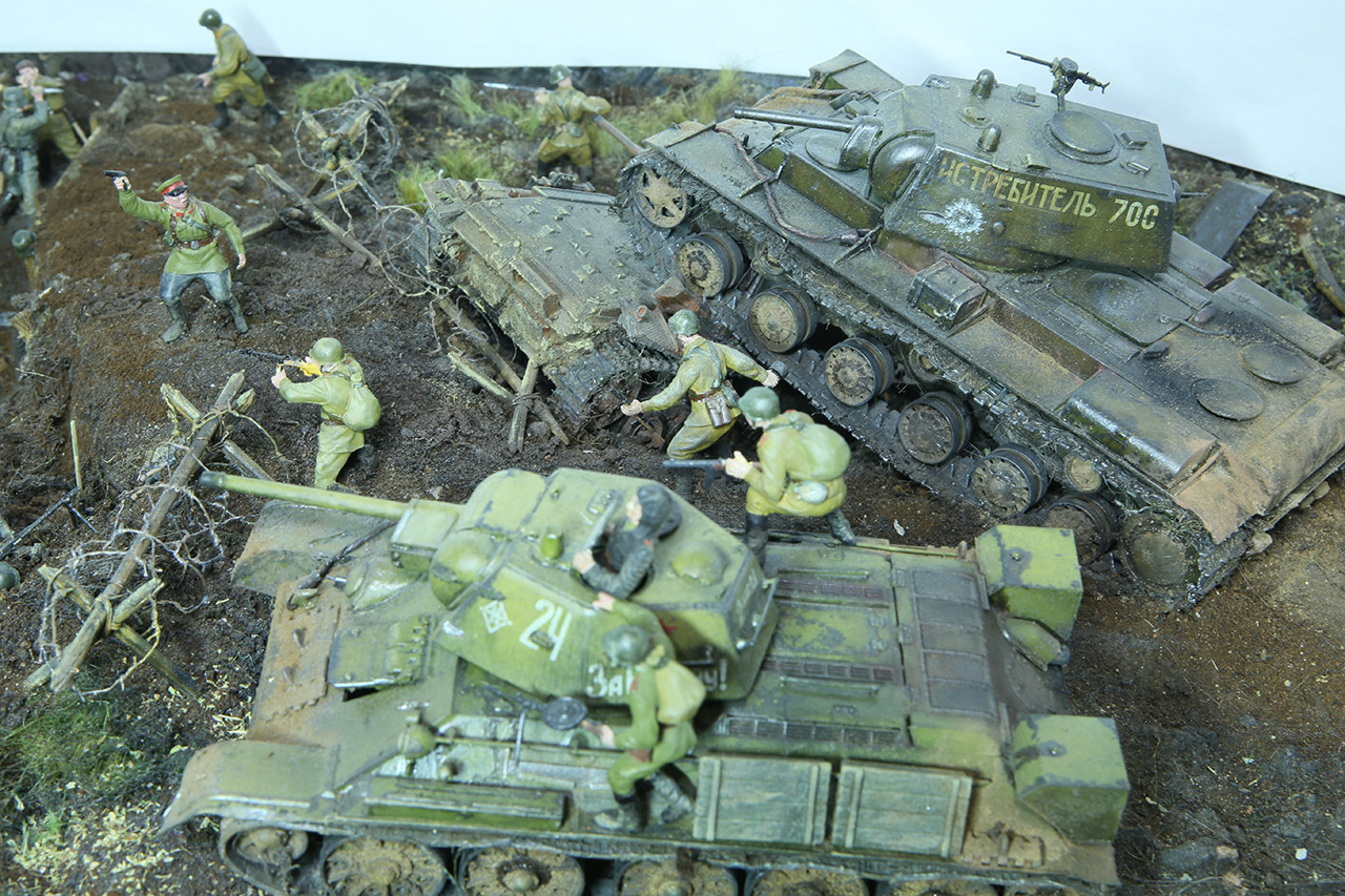 Dioramas and Vignettes: Kursk bulge. The breaktrough, photo #17