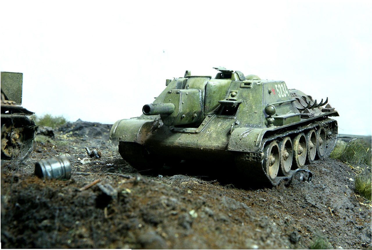 Dioramas and Vignettes: Kursk bulge. The breaktrough, photo #18