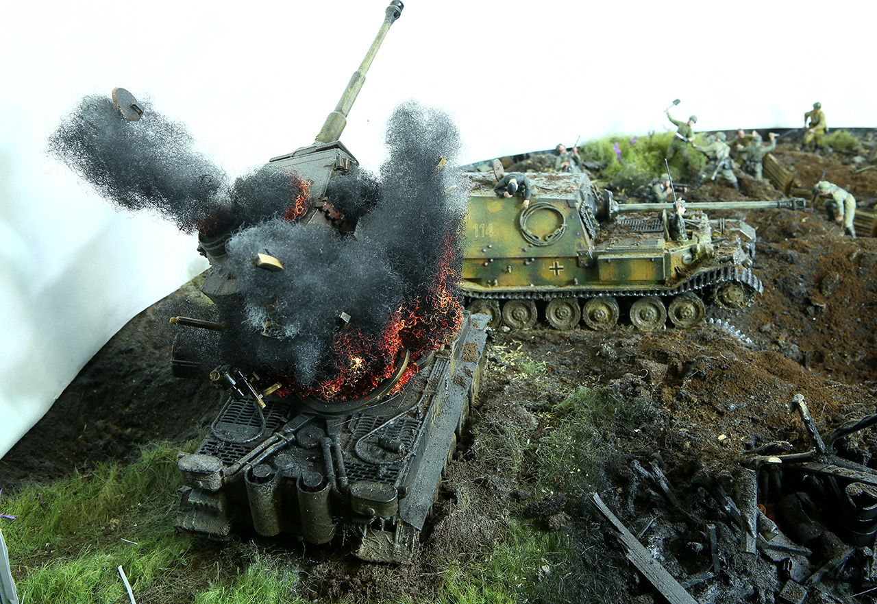 Dioramas and Vignettes: Kursk bulge. The breaktrough, photo #23