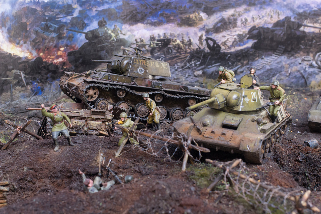 Dioramas and Vignettes: Kursk bulge. The breaktrough, photo #5