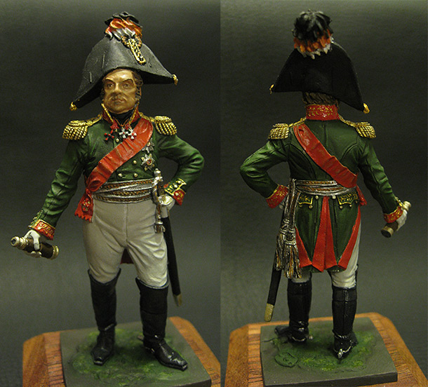 Figures: General D.S.Dokhturov, 1812