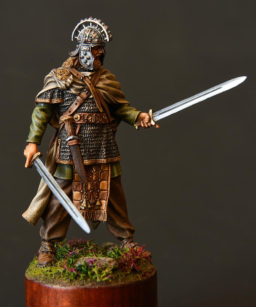 Figures: Irish warlord, 1014, photo #1