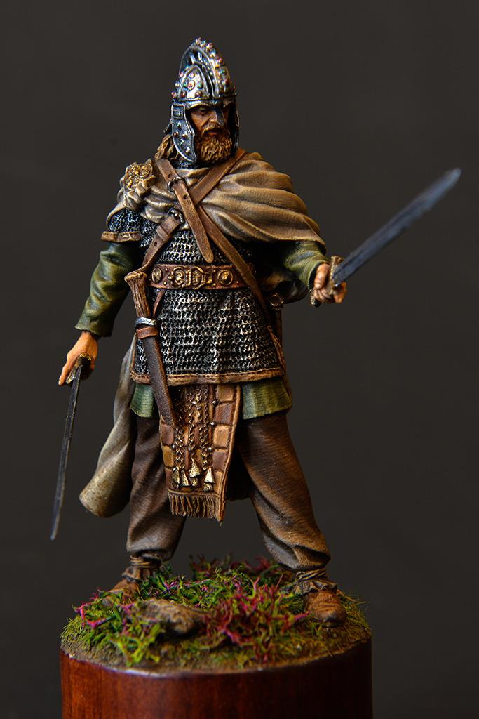 Figures: Irish warlord, 1014, photo #2