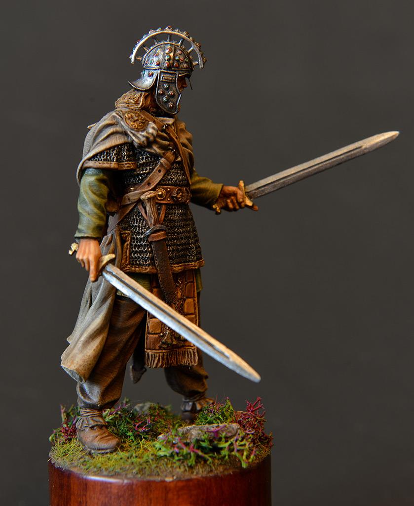 Figures: Irish warlord, 1014, photo #3
