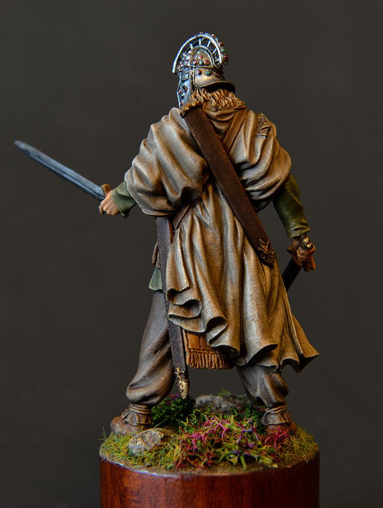 Figures: Irish warlord, 1014, photo #4