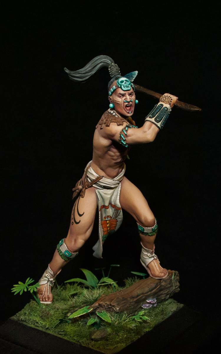 Figures: Maya warrior, 16th century, photo #3