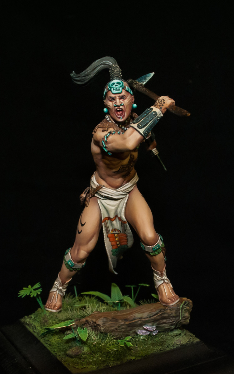 Figures: Maya warrior, 16th century, photo #7