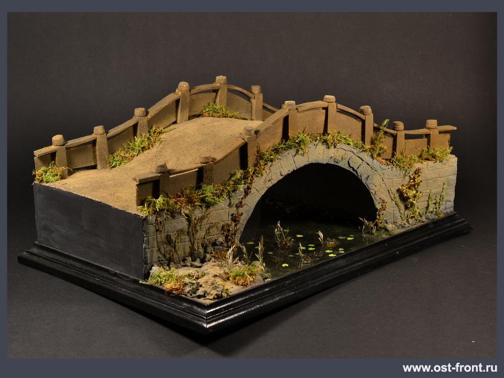 Dioramas and Vignettes: Chinese bridge, photo #11