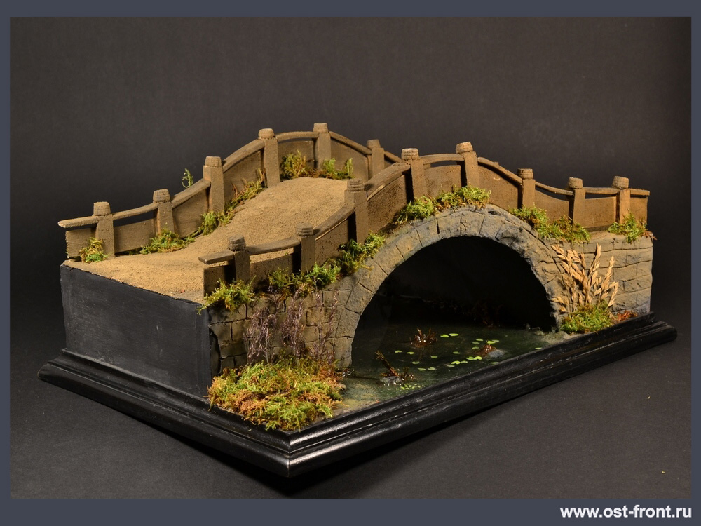 Dioramas and Vignettes: Chinese bridge, photo #12