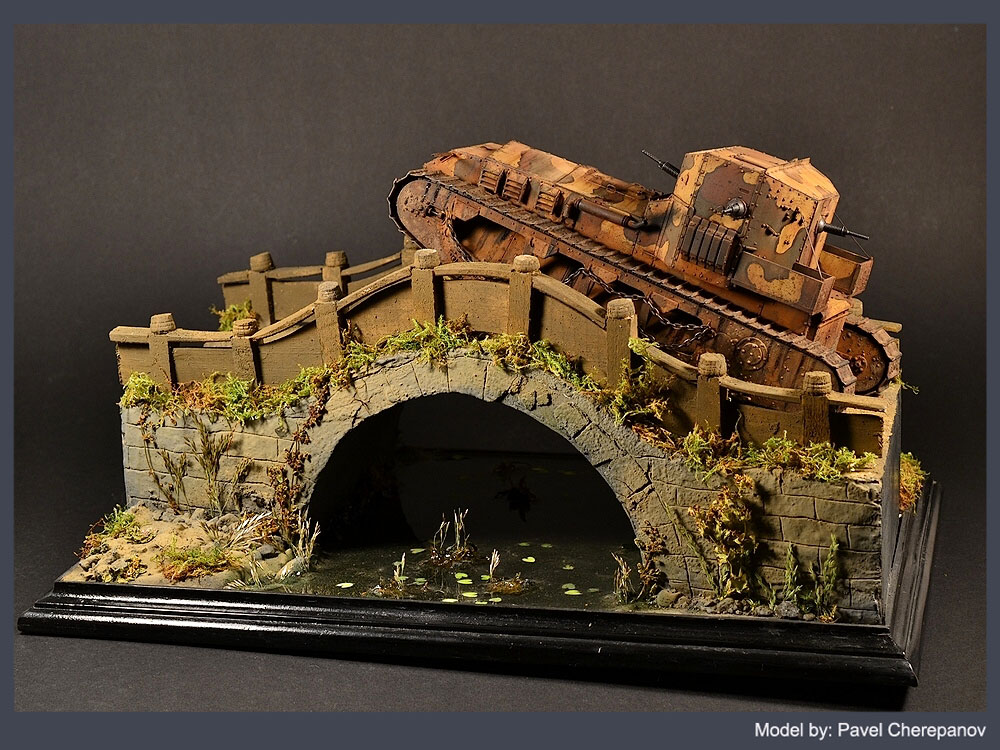 Dioramas and Vignettes: Chinese bridge, photo #4