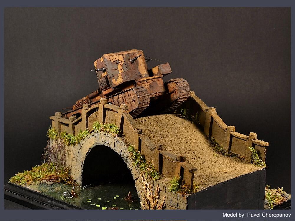 Dioramas and Vignettes: Chinese bridge, photo #6