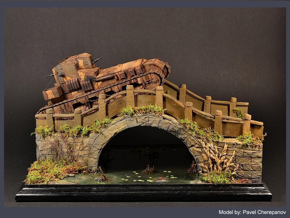 Dioramas and Vignettes: Chinese bridge, photo #8