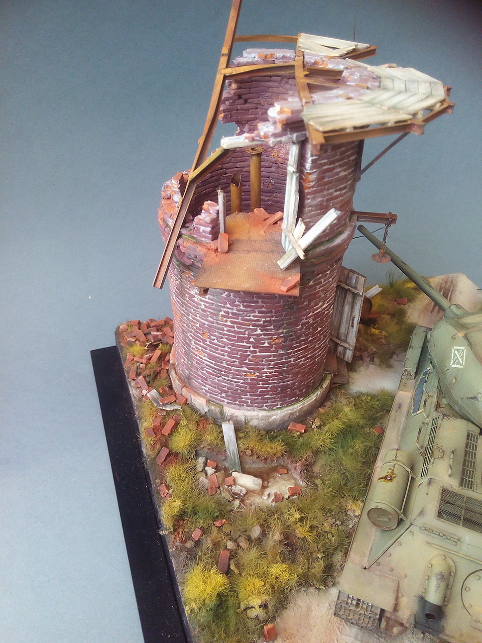 Dioramas and Vignettes: Work horses. T-34/85, photo #3