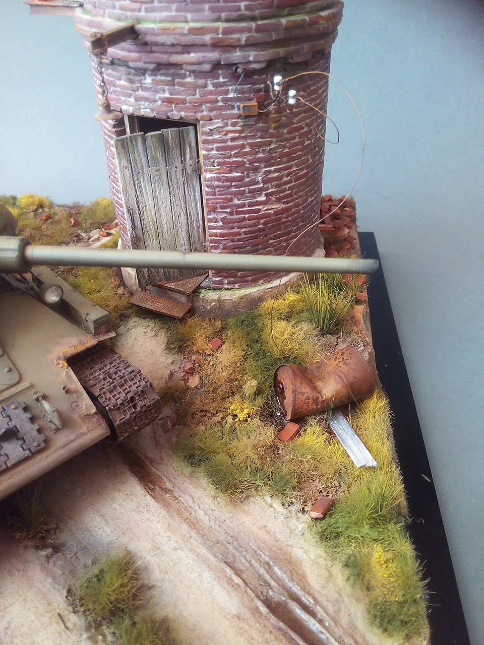 Dioramas and Vignettes: Work horses. T-34/85, photo #4