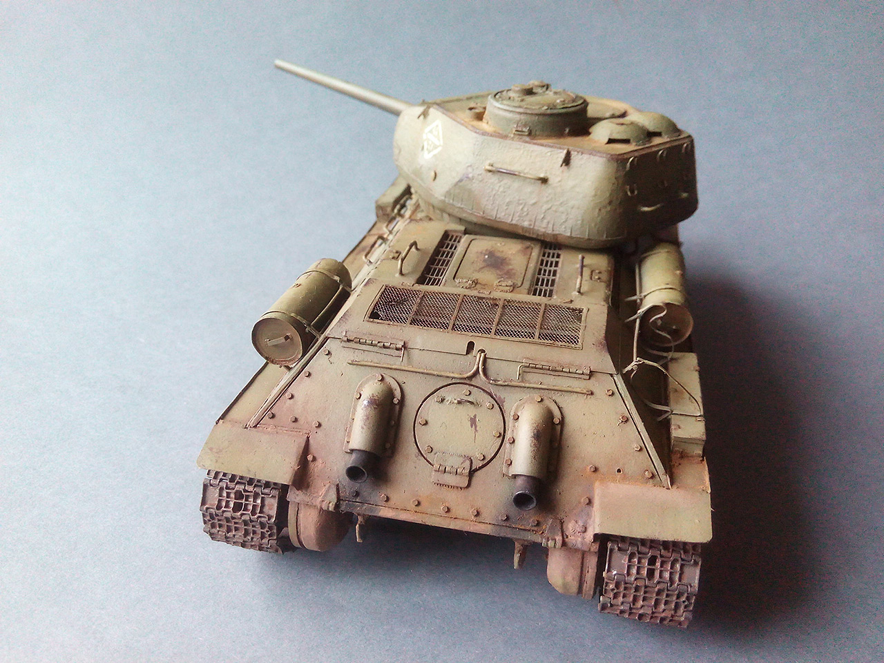 Dioramas and Vignettes: Work horses. T-34/85, photo #7