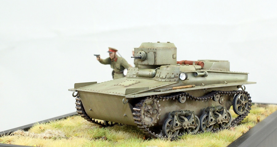 Dioramas and Vignettes: T-37 in attack, photo #3