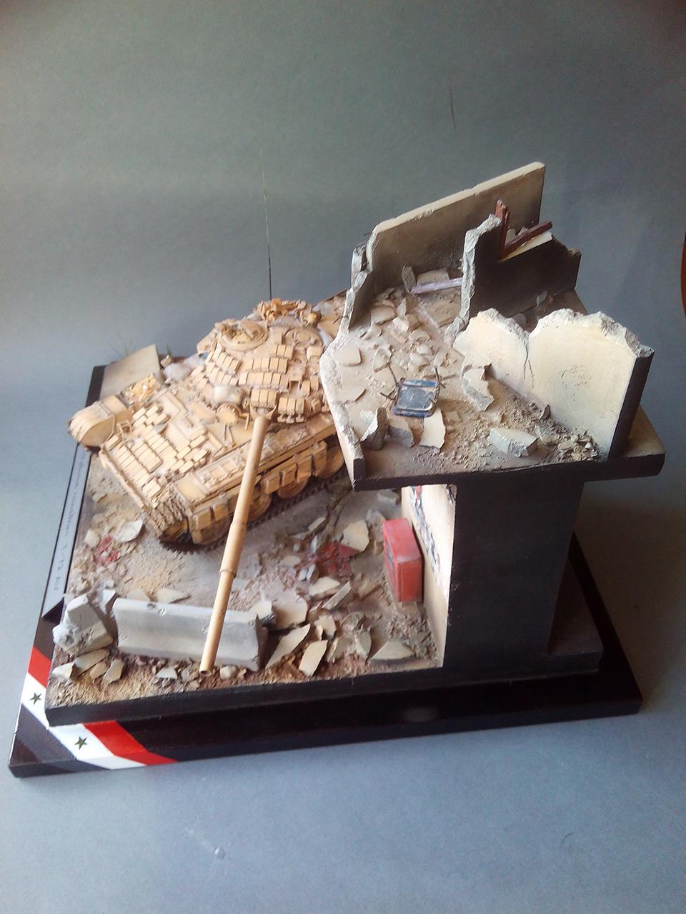 Dioramas and Vignettes: Work horses. Т-72AV, photo #6