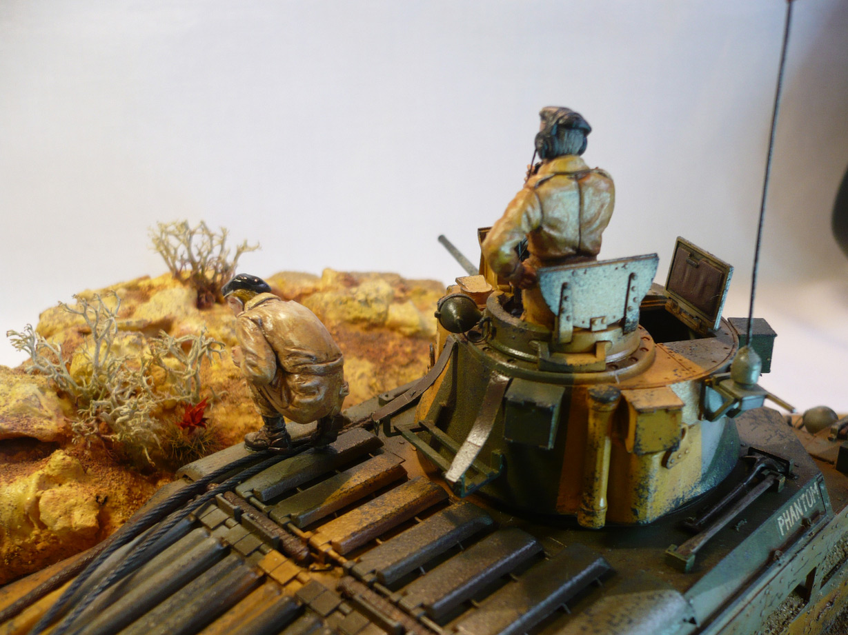 Dioramas and Vignettes: Scarlet flower, photo #3