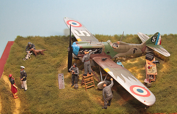 Dioramas and Vignettes: Are the planes first of all?